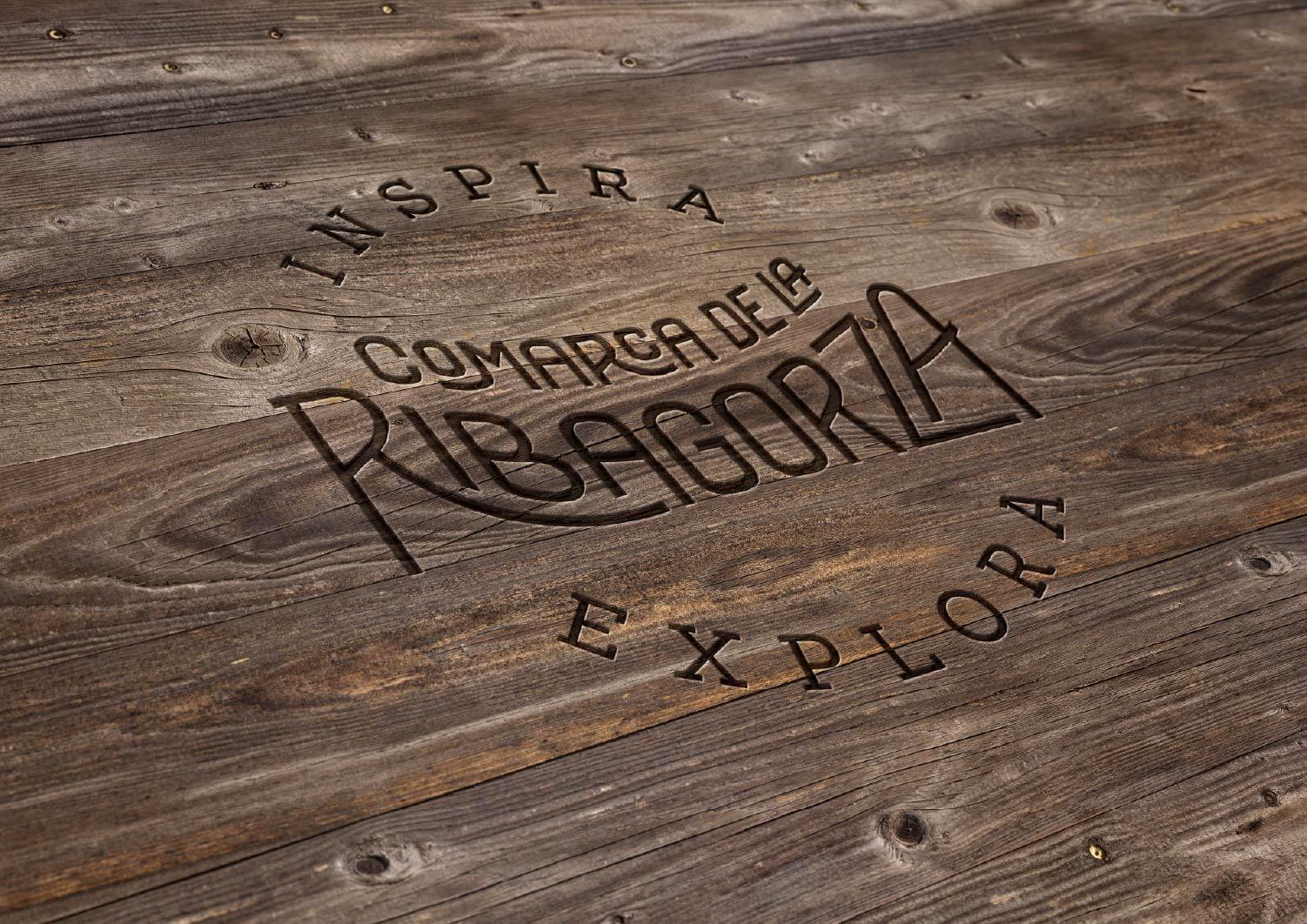 Logo en madera